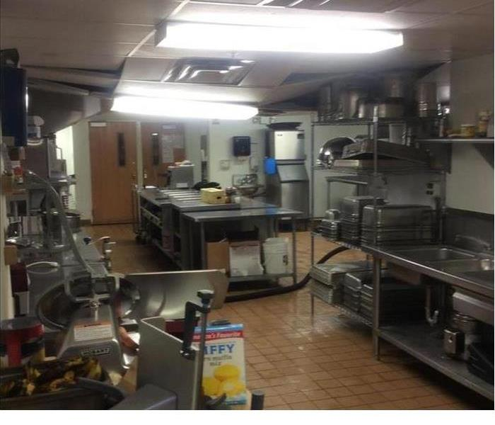 Water Loss In Commercial Kitchen Before