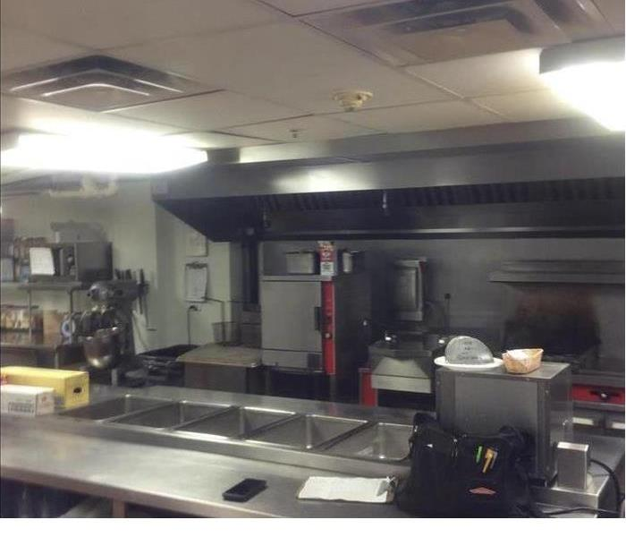 Water Loss In Commercial Kitchen After