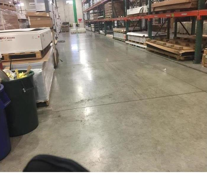 Warehouse Cleanup After Flooding Before