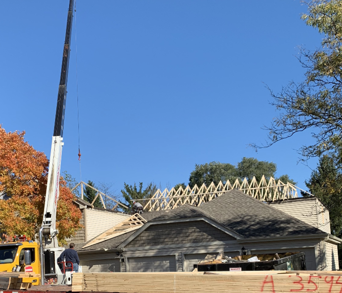 House Roof Construction