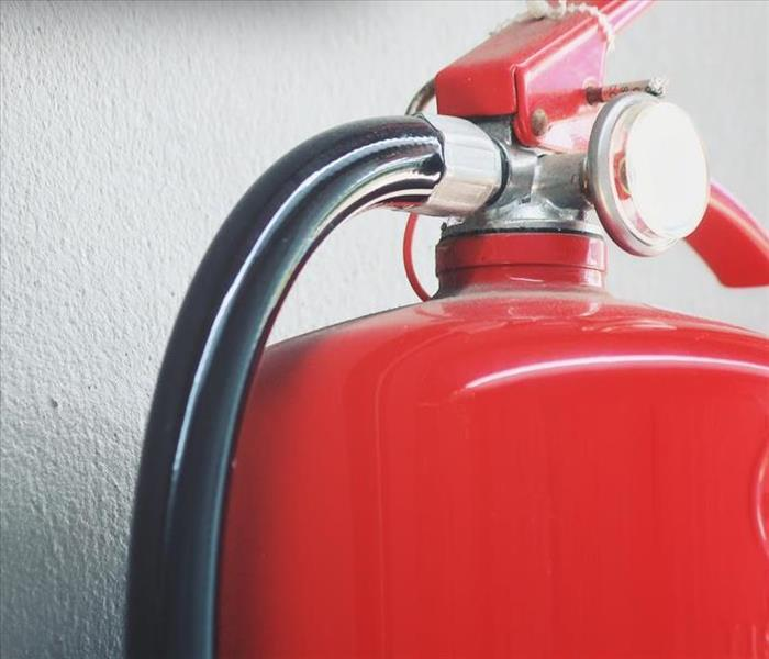 Why SERVPRO 4 Tips for How to Use a Fire Extinguisher